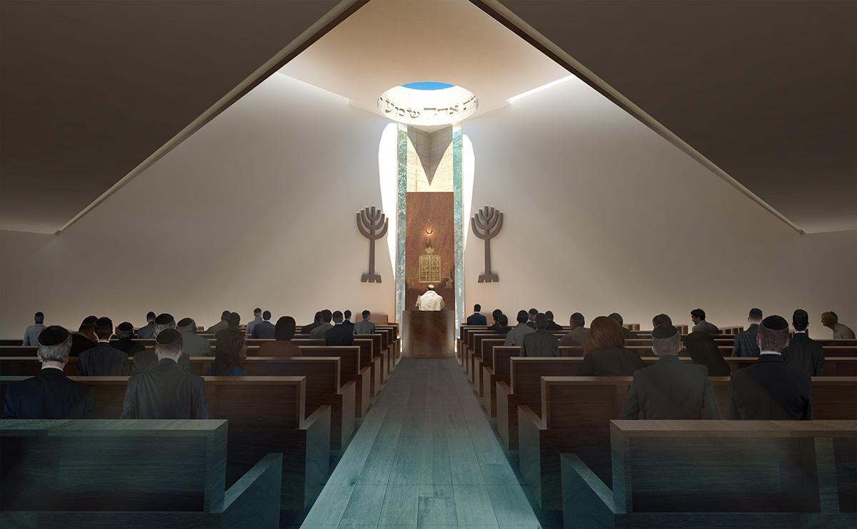 Community-Center-Beth-Itzjak-altar